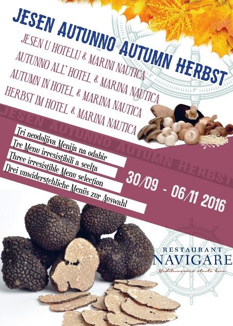 Restoran Navigare jesen 2016