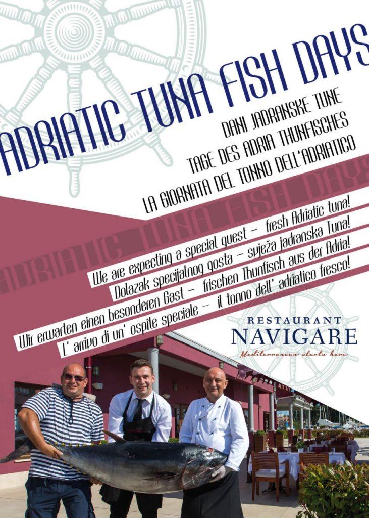 Adriatic tuna fish days