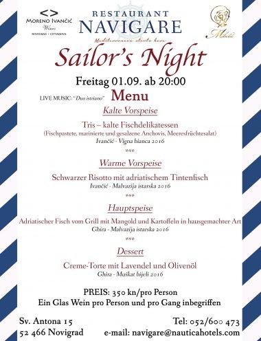 restaurant_Navigare_dinner_fish