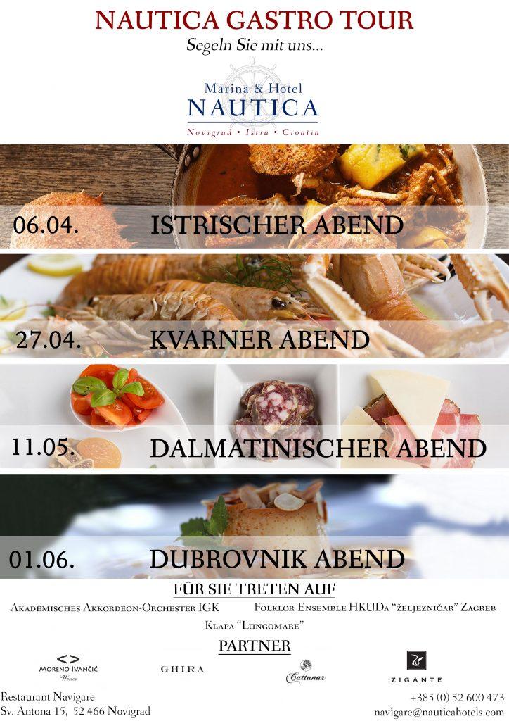 Nautica Gastro Tour